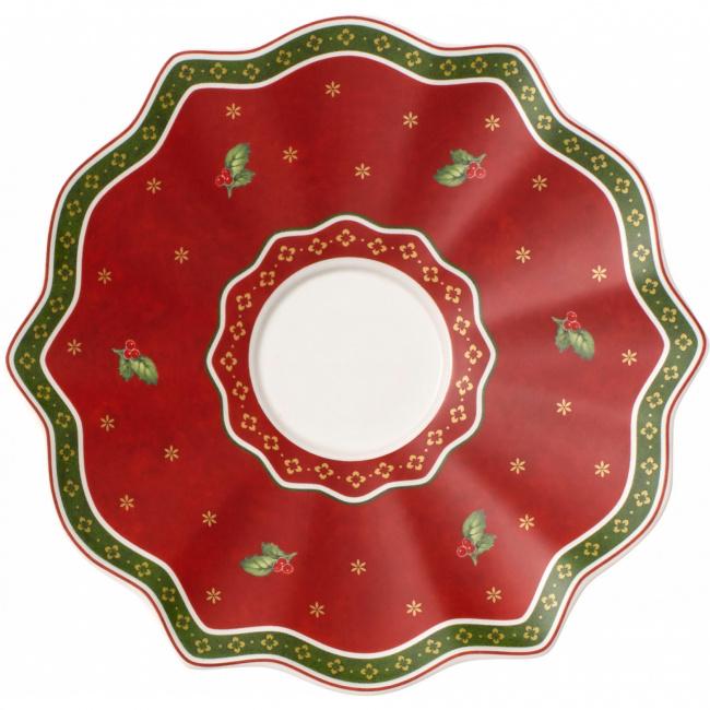 Spodek Toy's Delight 19cm do kubka czerwony