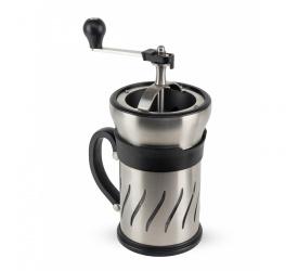 Zaparzacz z młynkiem do kawy