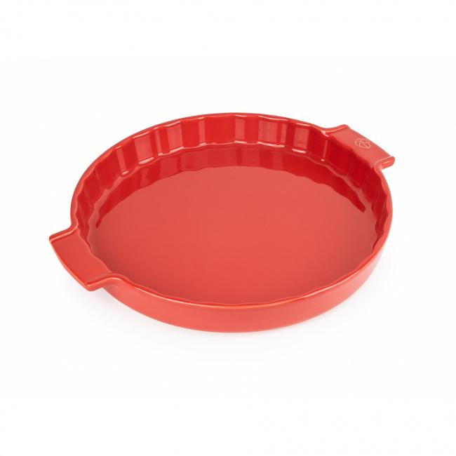 Naczynie 30cm do tarty czerwone