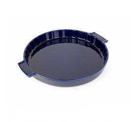 Naczynie 30cm do tarty niebieskie
