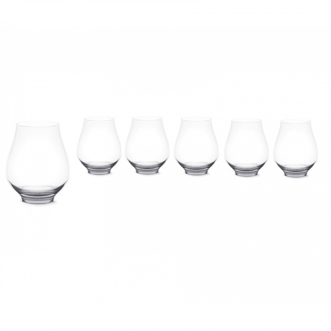 Komplet 6 szklanek Paris Bouquet 250ml
