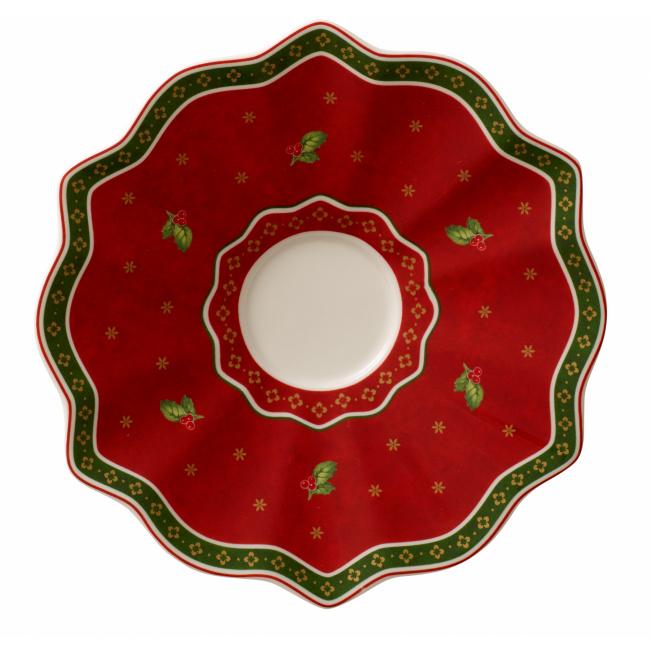 Spodek Toy's Delight 16,5cm czerwony do filiżanki do kawy