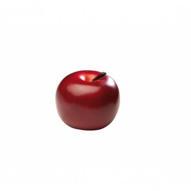 Jabłko czerwone dekoracja 7,5cm