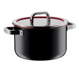 Garnek Fusiontec Functional 6,4l 24cm czarny