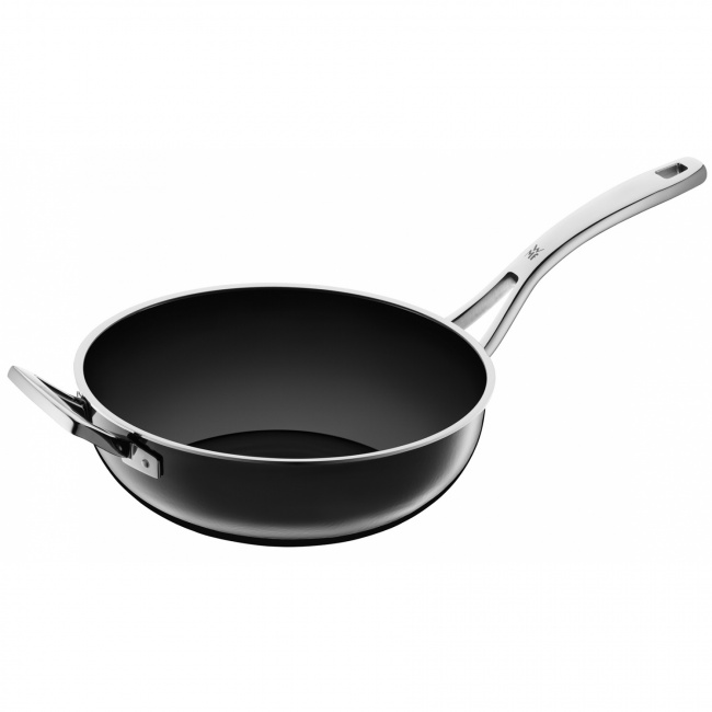 Patelnia wok Fusiontec Mineral 24cm czarny