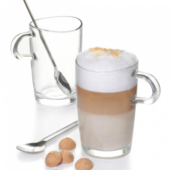 Komplet 2 szklanek Loop 365ml do kawy