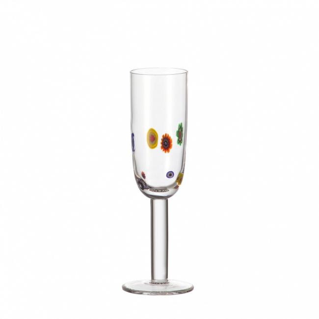 Kieliszek Millefiori 180ml do szampana