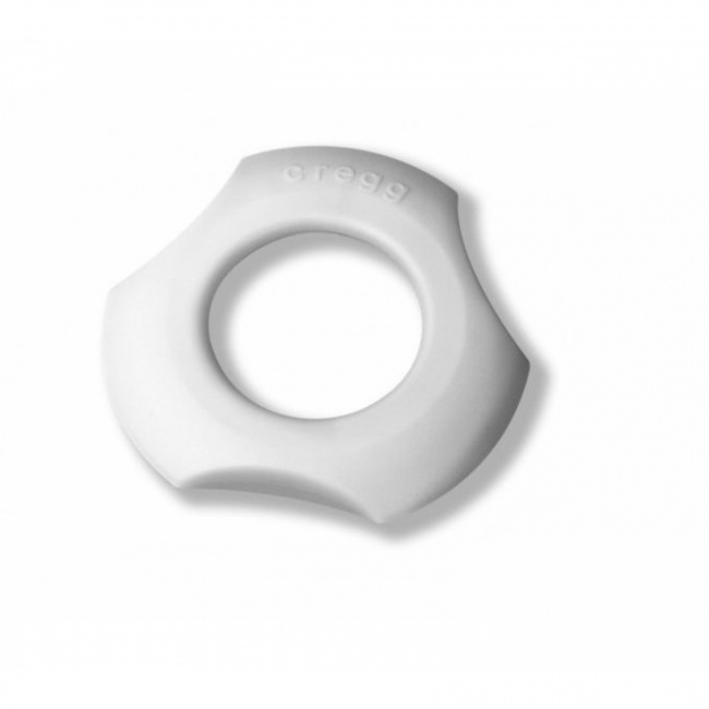 Kieliszek z obcinaczem do jajek 3w1 biały