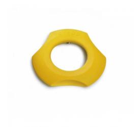Kieliszek z obcinaczem do jajek 3w1 żółty
