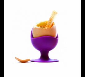 Kieliszek do jajka bakłażan