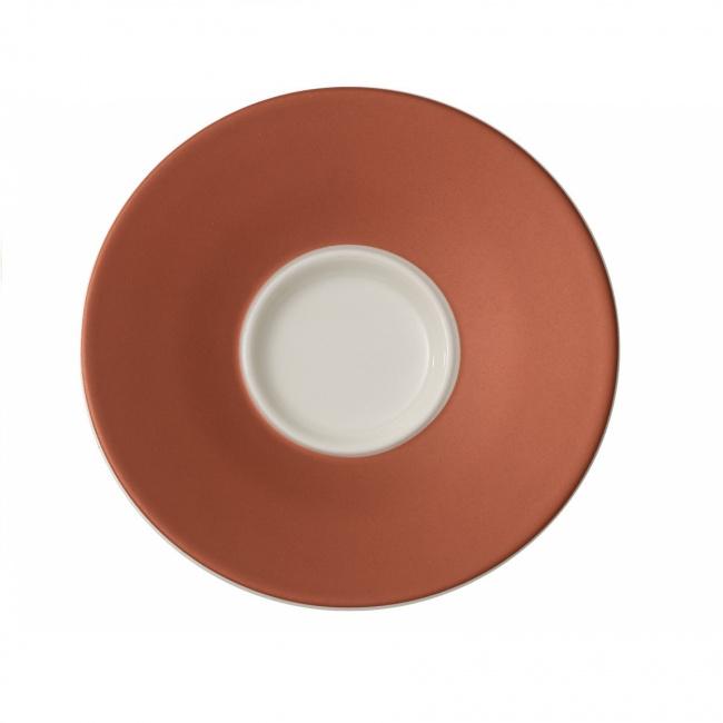 Spodek Caffè Club Uni Oak 12cm do filiżanki do espresso