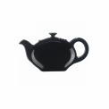 Talerzyk na torebkę herbacianą czarny