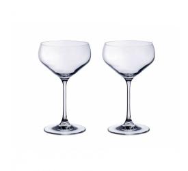 Komplet 2 kieliszków Purismo 380ml do szampana