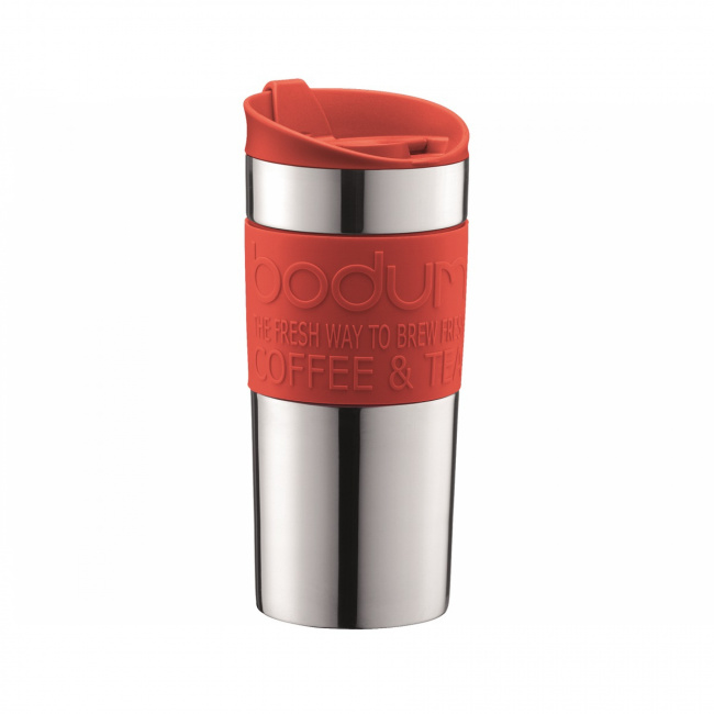 Kubek termiczny Travel 350ml czerwony
