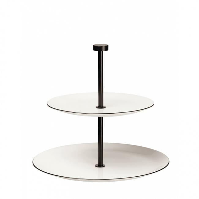 Etażerka a'Table Ligne II-poziomowa
