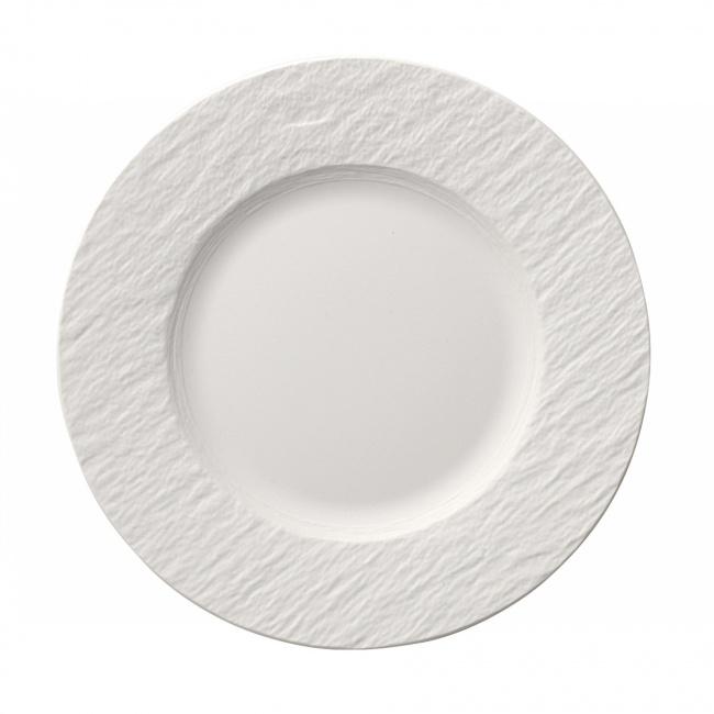 Talerz Manufacture Rock blanc 22cm śniadaniowy