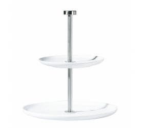 Etażerka a'Table II-poziomowa