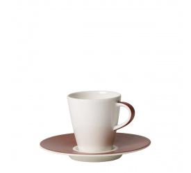 Filiżanka ze spodkiem Caffè Club Uni Oak 100ml do espresso