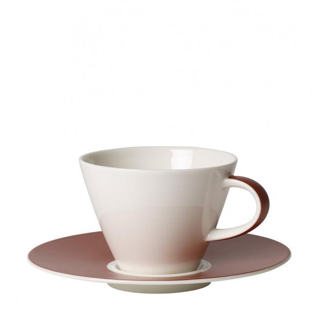 Filiżanka ze spodkiem Caffe Club Uni Oak 220ml do kawy
