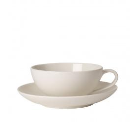 Filiżanka ze spodkiem For Me 230ml do herbaty