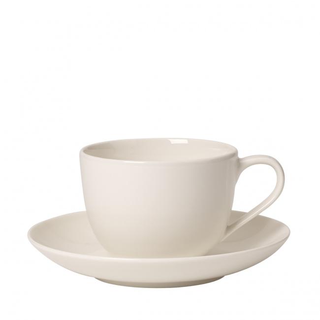 Filiżanka ze spodkiem For Me 230ml do kawy