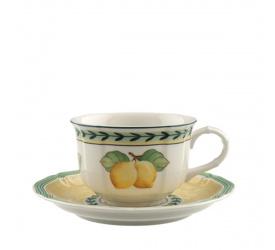 Filiżanka ze spodkiem French Garden 200ml do herbaty