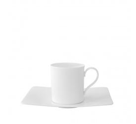 Filiżanka ze spodkiem Modern Grace 210ml do kawy