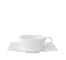 Filiżanka ze spodkiem Modern Grace 230ml do herbaty
