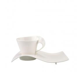 Filiżanka ze spodkiem NewWave Caffe 250ml do cappuccino