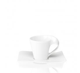 Filiżanka ze spodkiem NewWave 80ml do espresso
