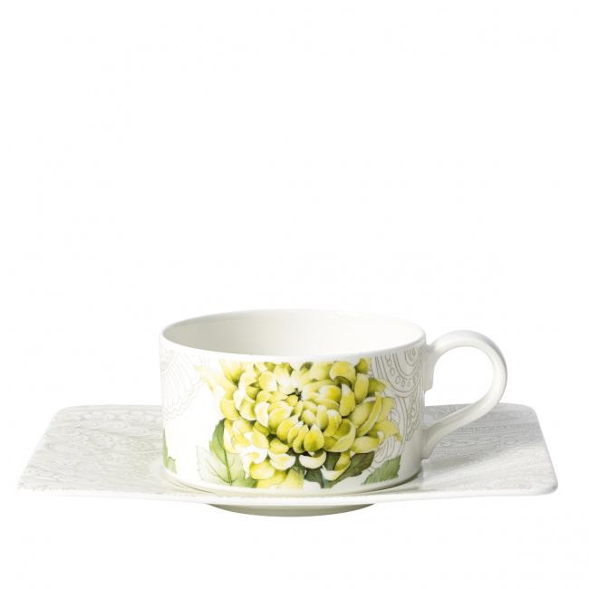 Filiżanka ze spodkiem Quinsai Garden 230ml do herbaty