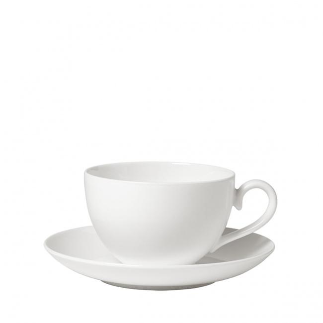 Filiżanka ze spodkiem Royal 200ml do kawy (wysoka)