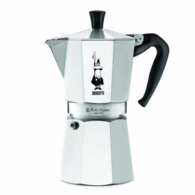 Kawiarka ciśnieniowa aluminiowa Moka Express 12-filiż.