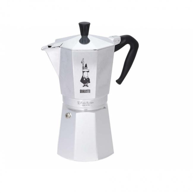 Kawiarka ciśnieniowa aluminiowa Moka Express 18-filiż.