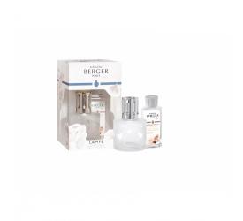 Lampa zapachowa przezroczysta + olejek zapachowy