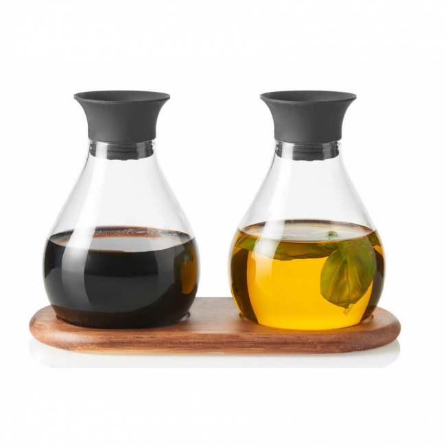 Komplet butelek Firenze do oliwy i oleju 200ml