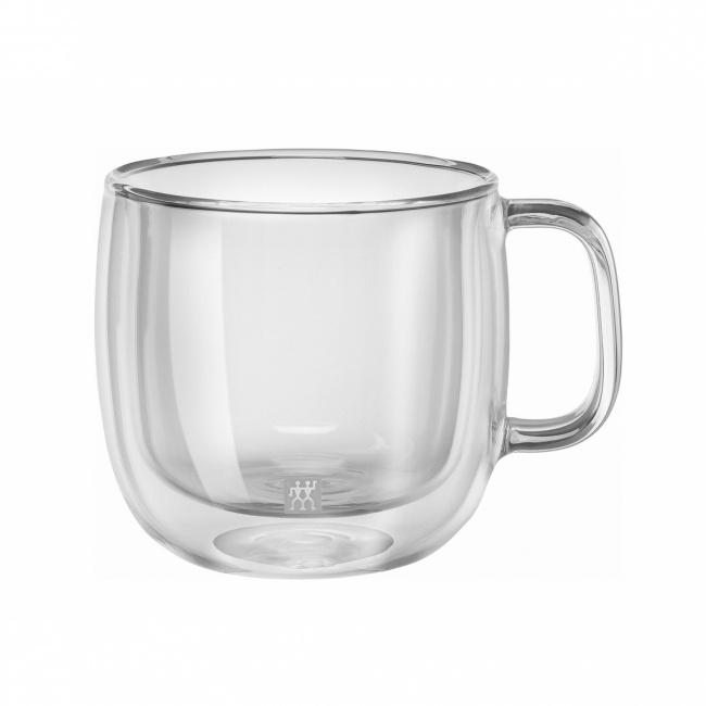 Kubek szklany Sorrento Plus 450ml do cappuccino