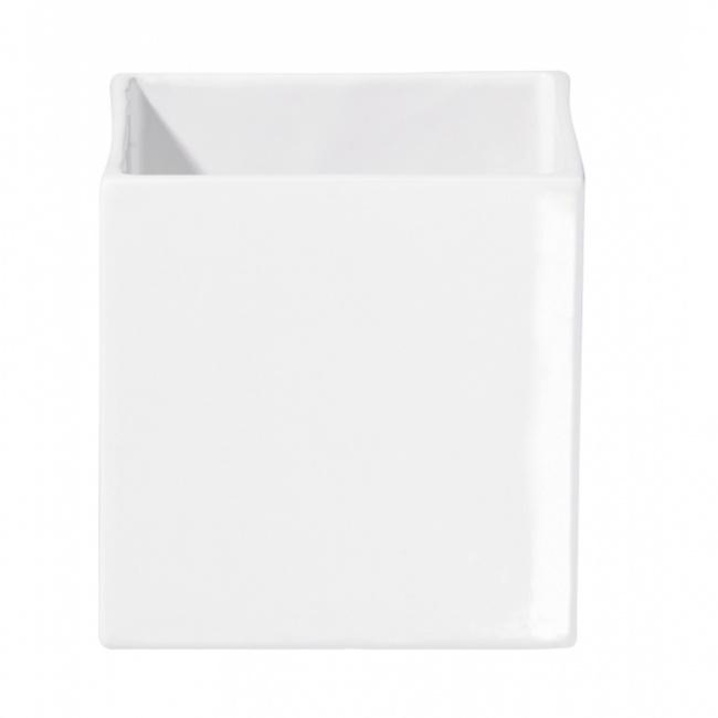 Osłonka Quadro 12cm biała