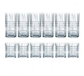 Komplet 12 szklanek Highland