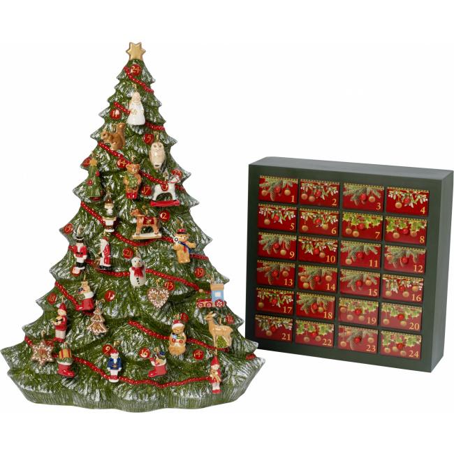 Kalendarz adwentowy Christmas Toys Memory 53cm choinka (brak zawieszki nr 13)
