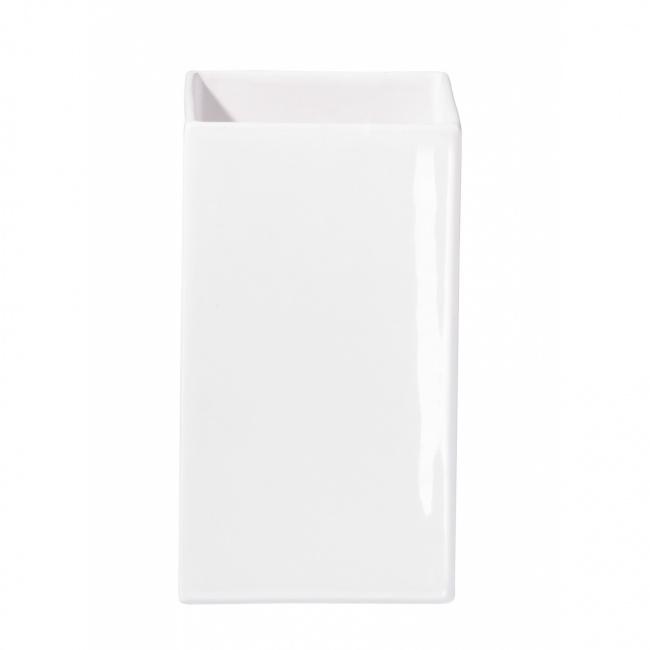 Osłonka Quadro 12x30cm biała