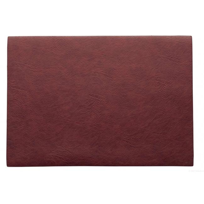 Podkładka Vegan leather 46x33cm palisander