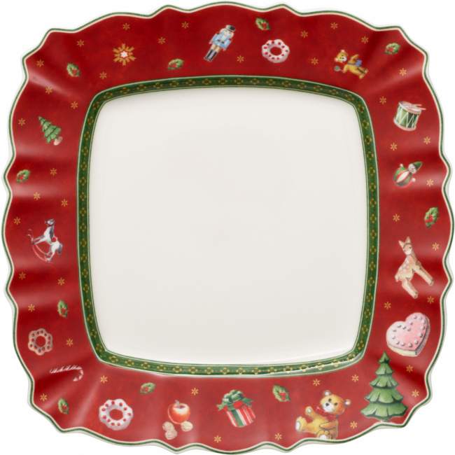 Talerz Toy's Delight 28,5cm czerwony