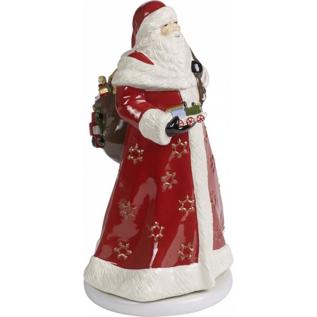 Pozytywka Christmas Toys Memory 34cm Św. Mikołaj