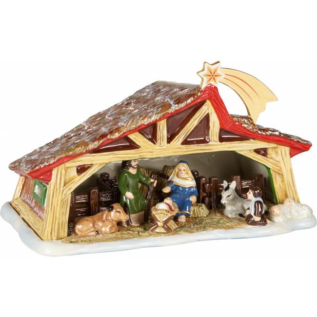 Lampion Christmas Toys Memory 27x16cm stajenka