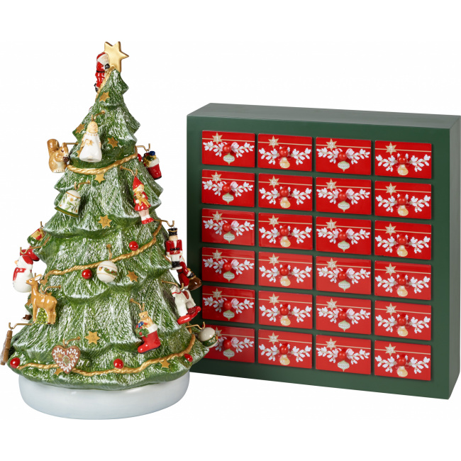 Kalendarz adwentowy 3D Christmas Toys Memory choinka