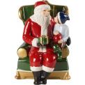 Figurka Mikołaj na fotelu Christmas Toys 15cm