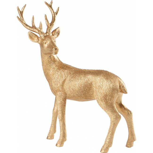Figurka Jeleń Christmas Toys 2019 22cm złota