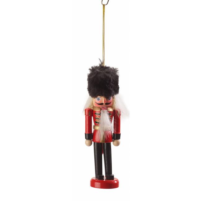 Komplet 2 zawieszek Christmas Toys 2019 8cm dziadek do orzechów