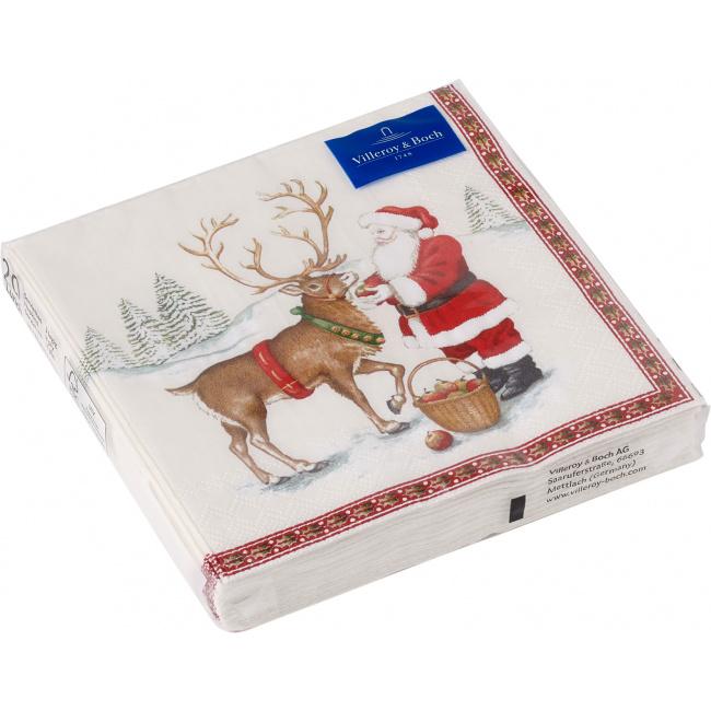 Serwetki papierowe Winter Specials 33cm renifer